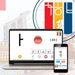 Korean language online